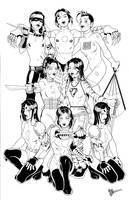Kabuki: Masks of the Noh by RickMays