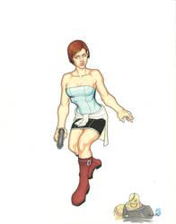 Jill Valentine, Last Escape