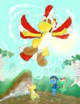 Fly Yoshi, fly!