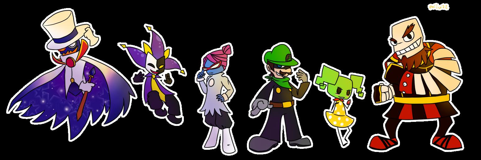 Super Paper Mario Villains 3 By Miju22 On DeviantArt