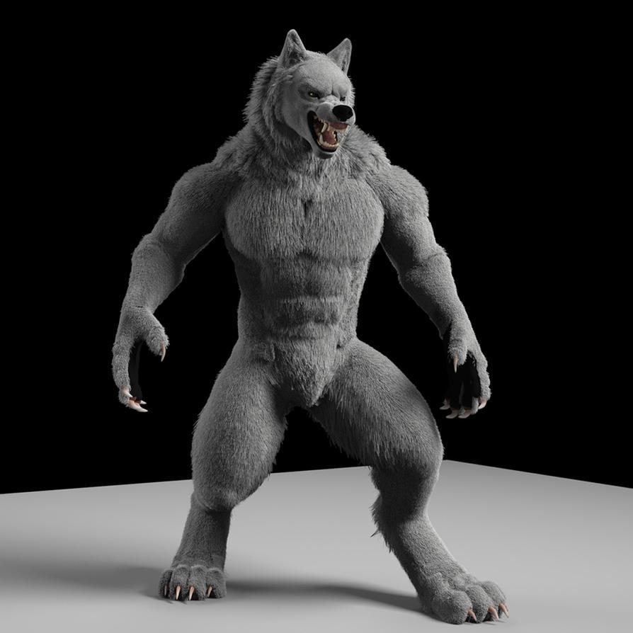 Werewolf 3D by neowolf