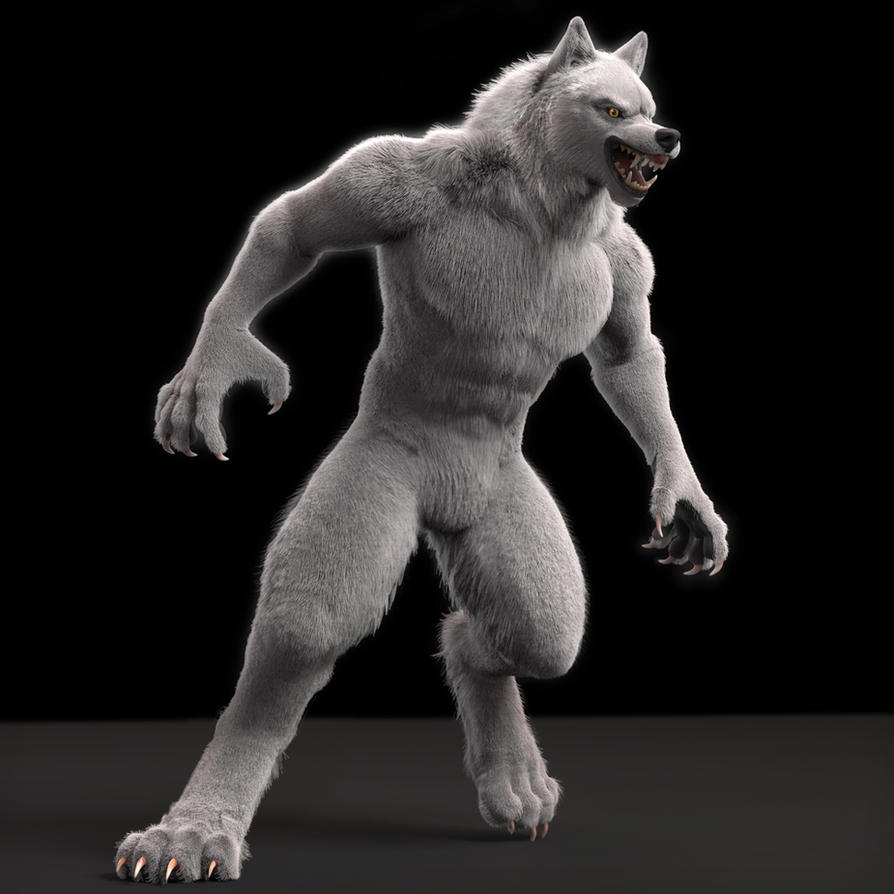 Werewolf Angry by neowolf