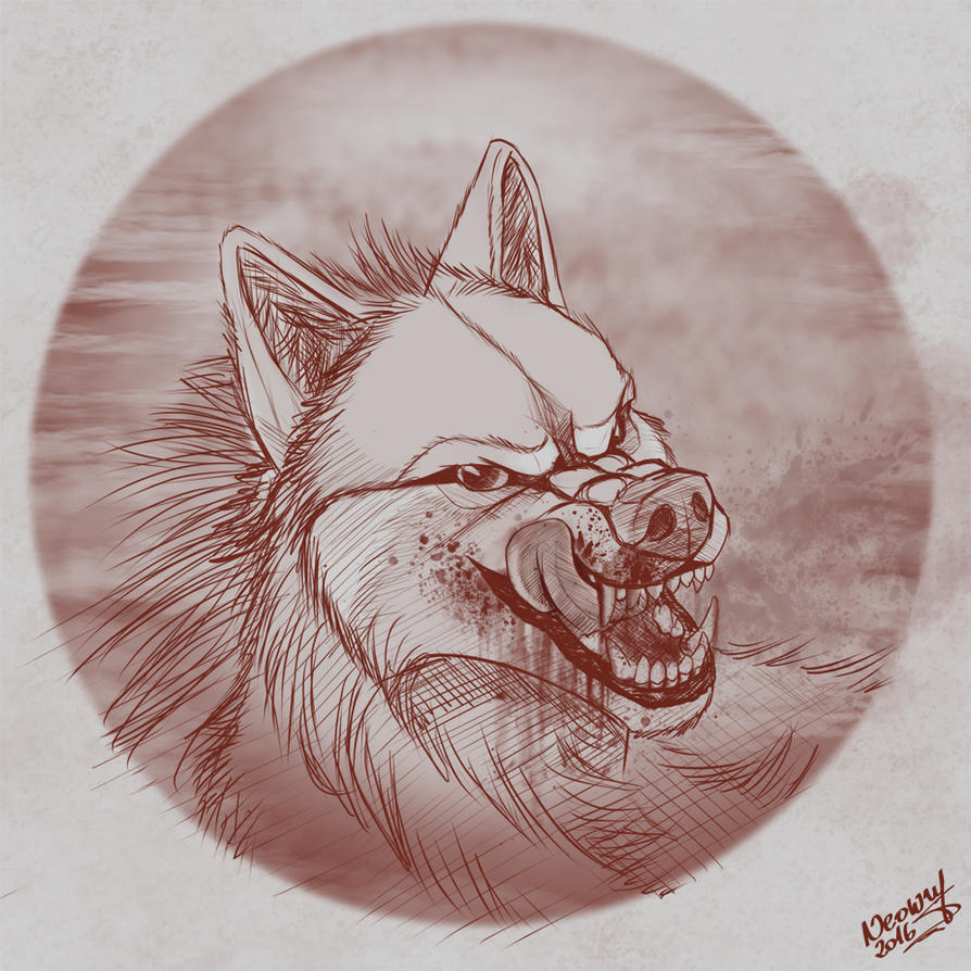 Enigma Portrait Comm by neowolf