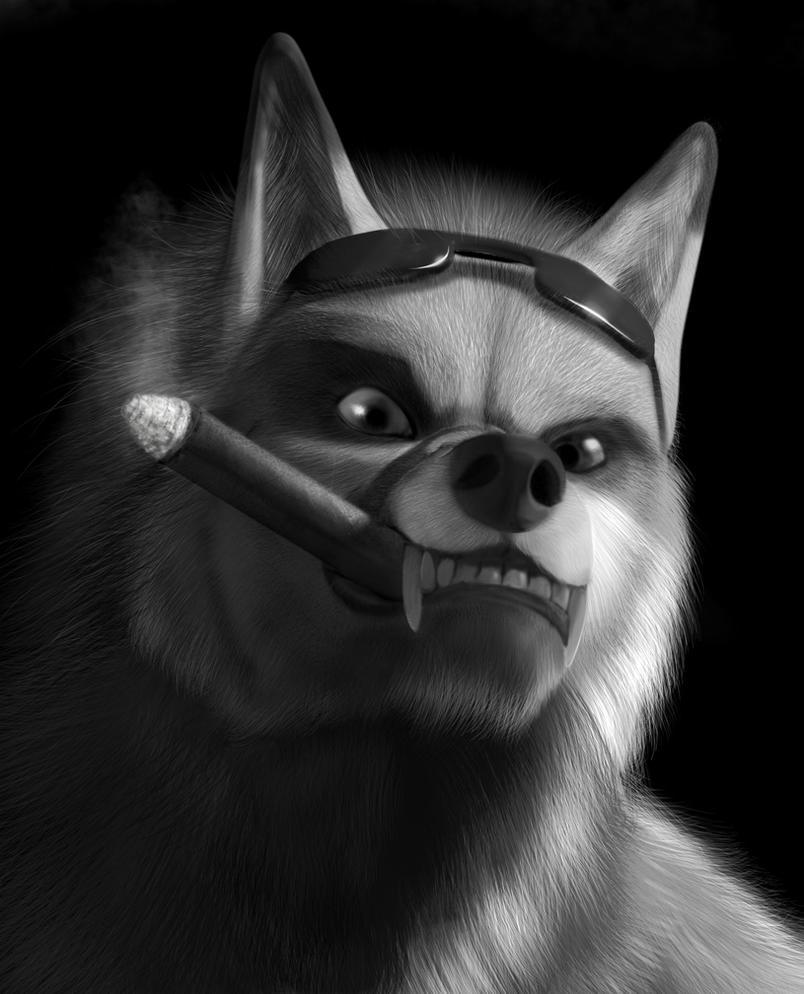 DJ Werefox Nemoen by neowolf