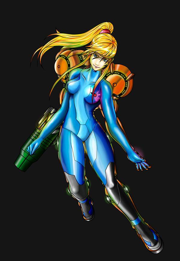 Zero Suit Samus by twilightzant