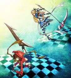 Duel by twilightzant