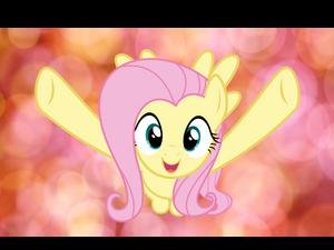 Fluttershy hug!