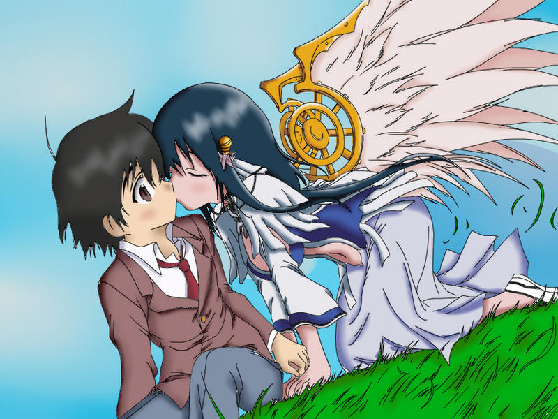Tomoki x hiyori by Addonexus94