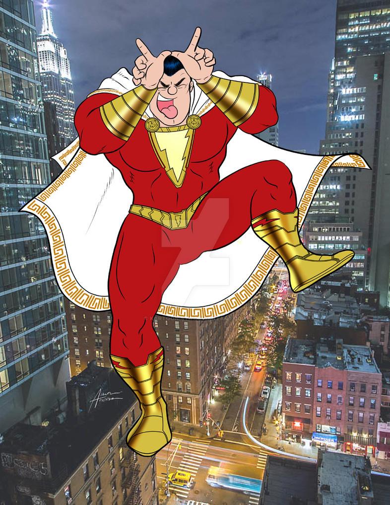 The Original Captain Marvel by kartoonista
