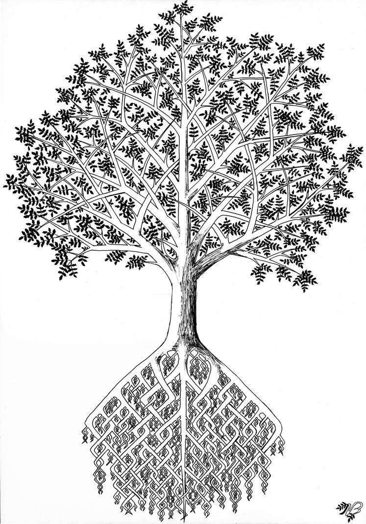 Yggdrasil by BeatryczeNowicka