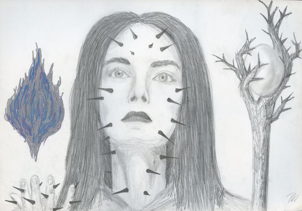 Blood Elf Sorceress by BeatryczeNowicka