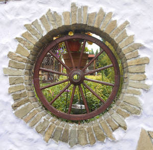 Another wheel in the wall