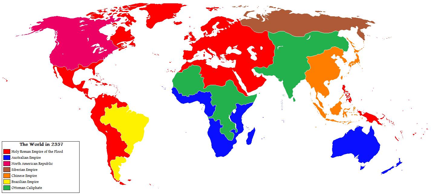 NationStates   Dispatch   World Map, 2357