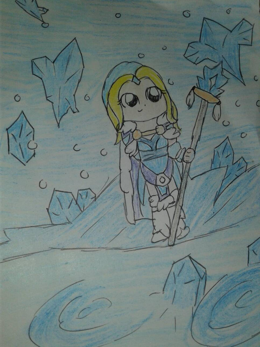 Crystal maiden  by PhantomJohara