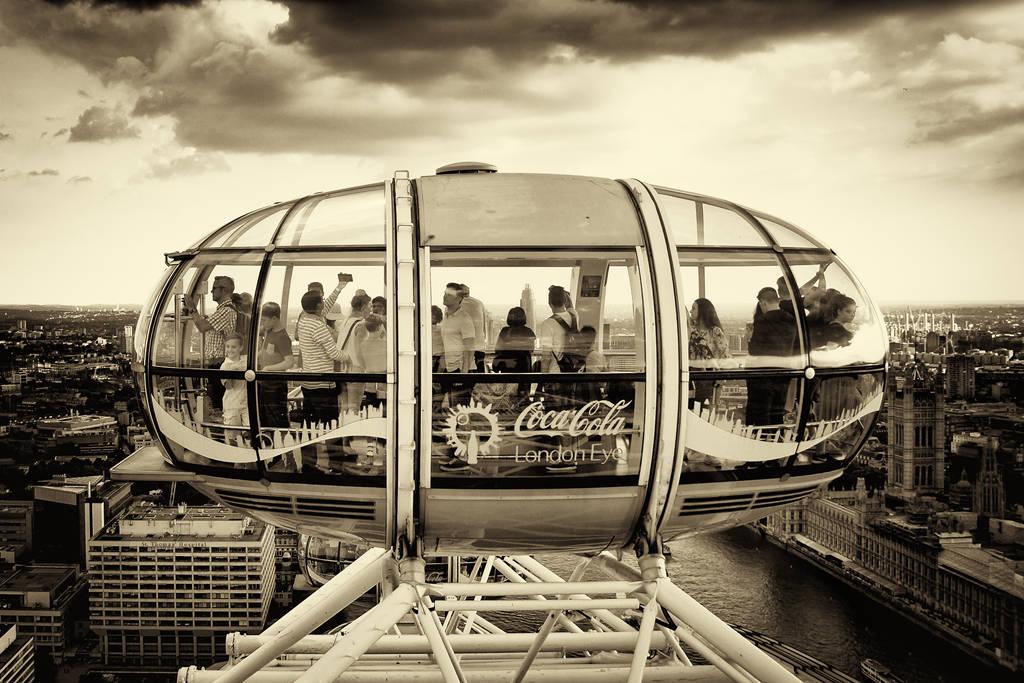 London Eye by taazaa