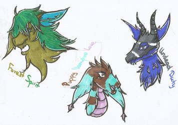 Random Marker Challenge Dragon Adopts (open)