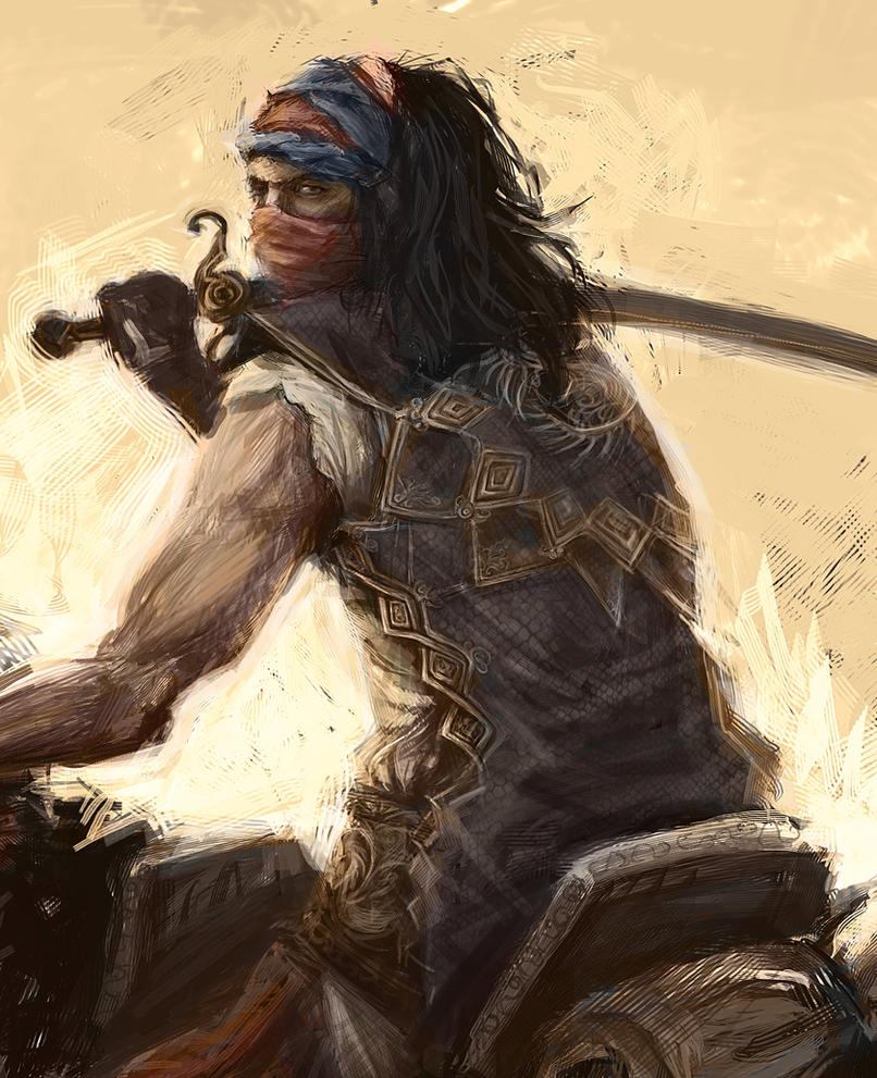 Prince of Persia Bandit by art-anti-de