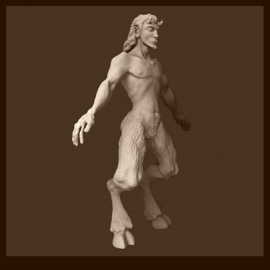 zBrush Satyr by art-anti-de