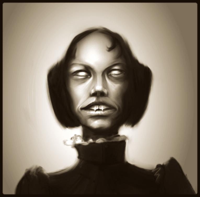 Vintage Vampire Thing by art-anti-de