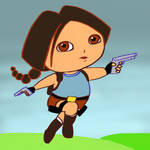 Mashup: Lara the Explorer