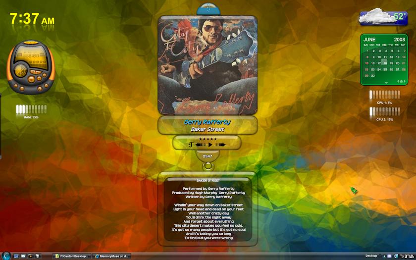 Groovy Desktop by MemoryMuse