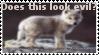 Wolf stamp by ZeCrazyAngel