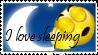 I love sleeping stamp by ZeCrazyAngel
