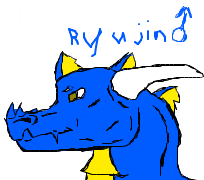 Another drawing of Ryujin by ZeCrazyAngel