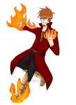Jonathan's fire (without background)