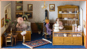 Dollshouse bakery/lunchroom