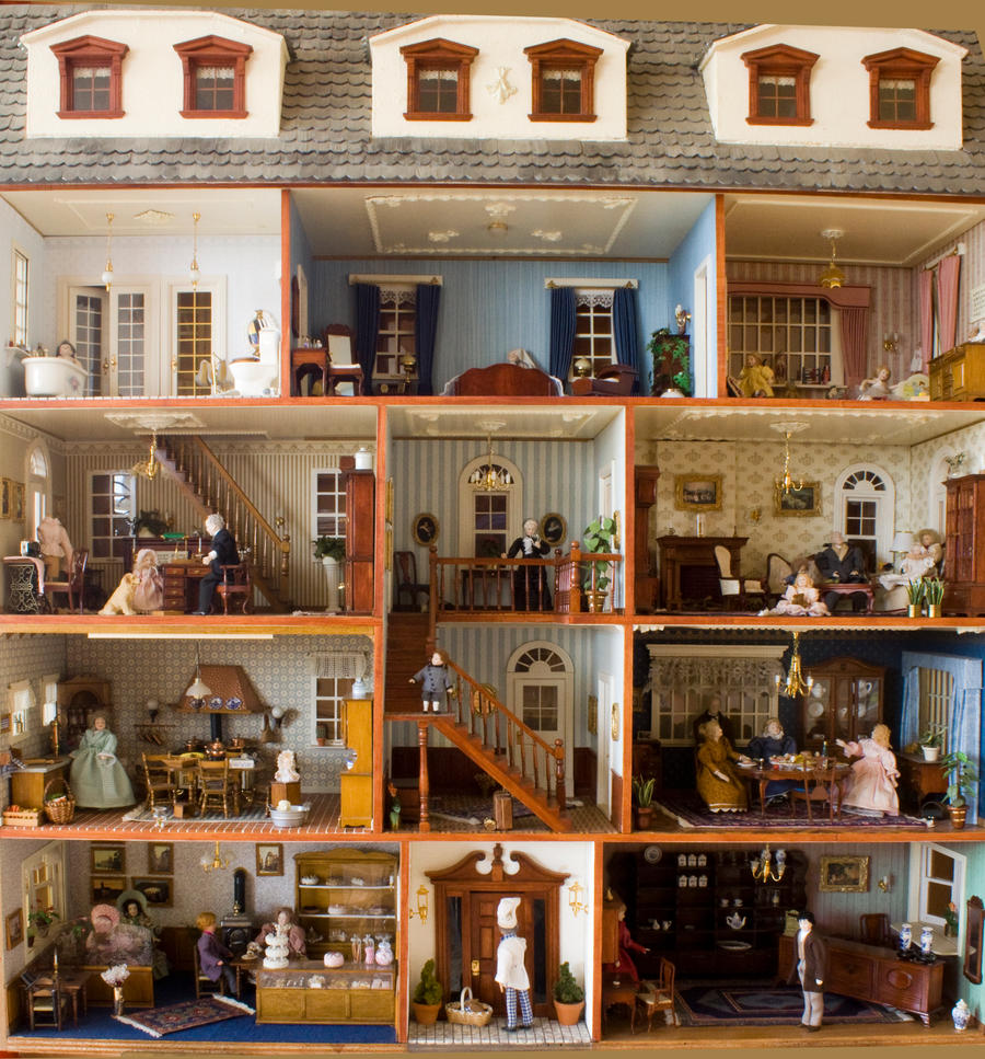 Dollshouse by SarahharaS1