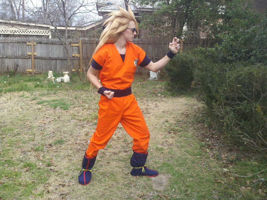 Super saiyan 3 goku cosplay 4 by sasuke12392