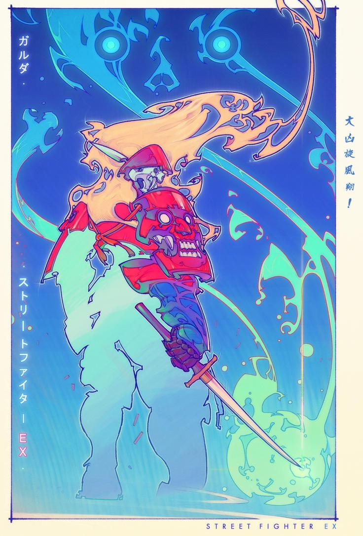 Garuda - Street Fighter EX by DiegoPorto