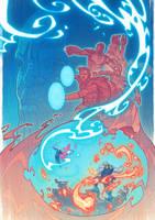 Infinity War fanart by DiegoPorto
