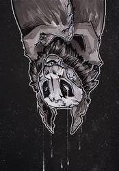 Chiropteran Deity by Radioactive-Insanity