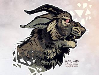 Charr-type Beasty by Radioactive-Insanity