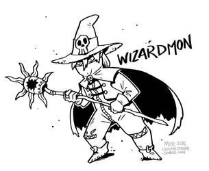 Wizardmon! by Radioactive-Insanity