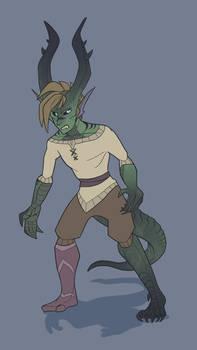 Keegs Dragon-Form