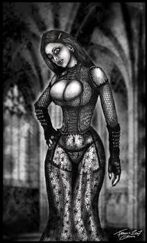 Gothic Church Lady