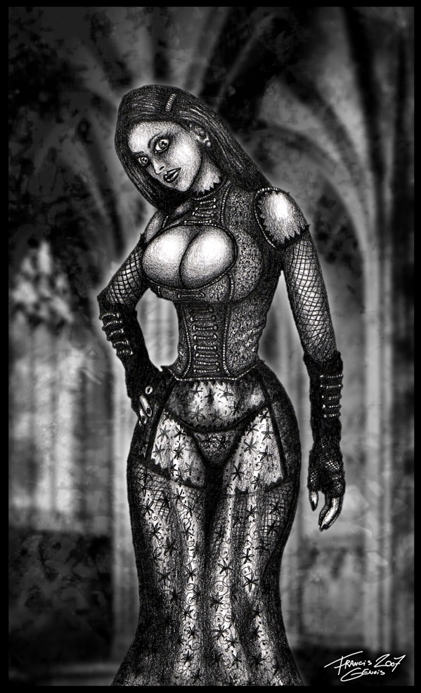 Gothic Church Lady by Francisgenois