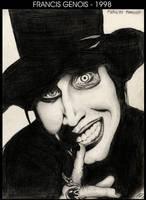 1998 - Marilyn Manson by Francisgenois