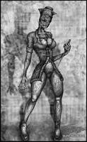 Silent Hill : Nurse by Francisgenois