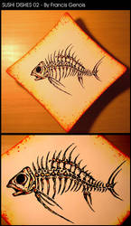 Sushi Dishes 02 by Francisgenois