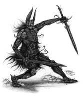 Sandor s Warrior by Francisgenois