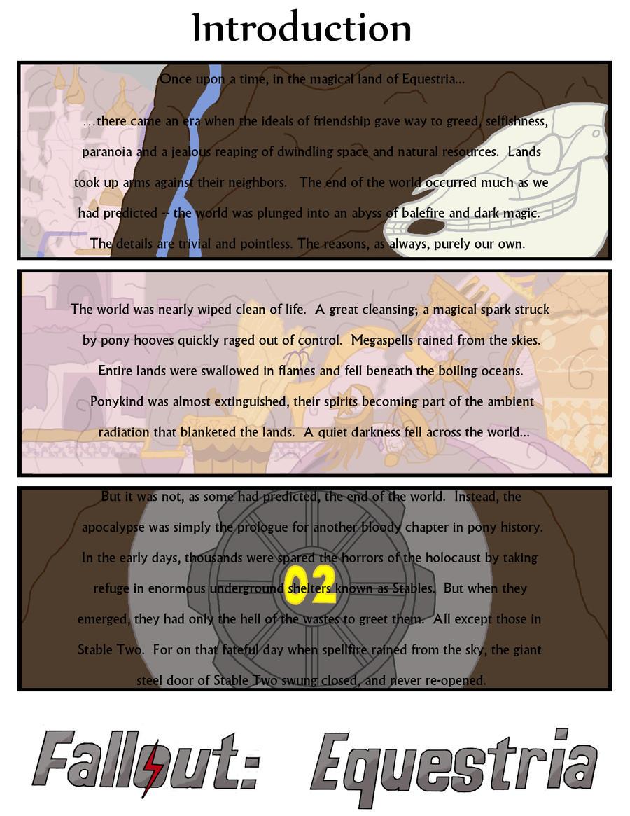 Fallout Equestria: THDC Issue 1 Intro