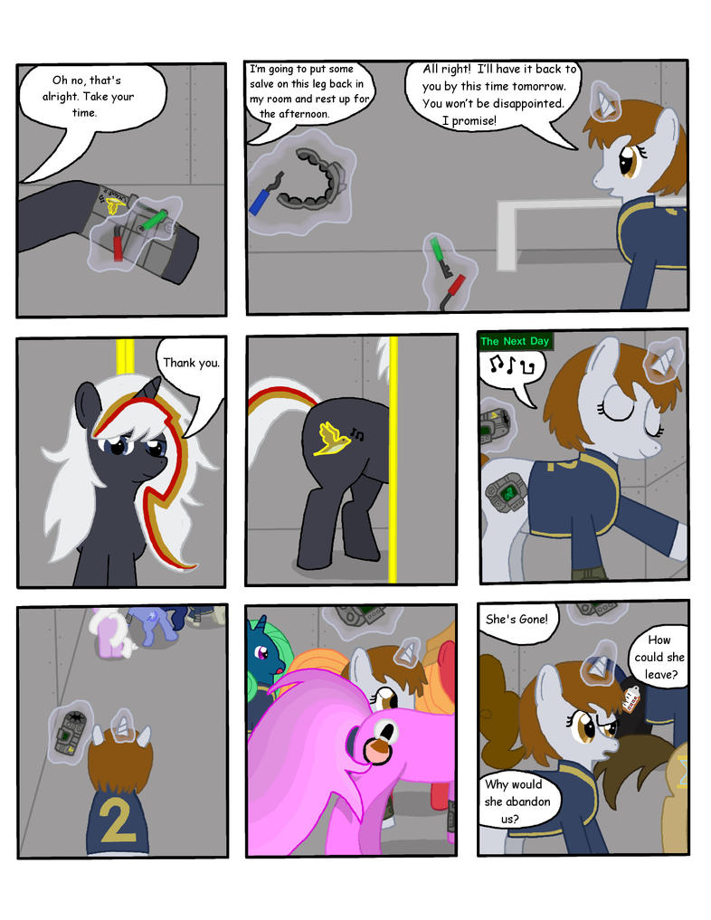 Fallout Equestria: THDC Issue 1 Page 2 by L9OBL