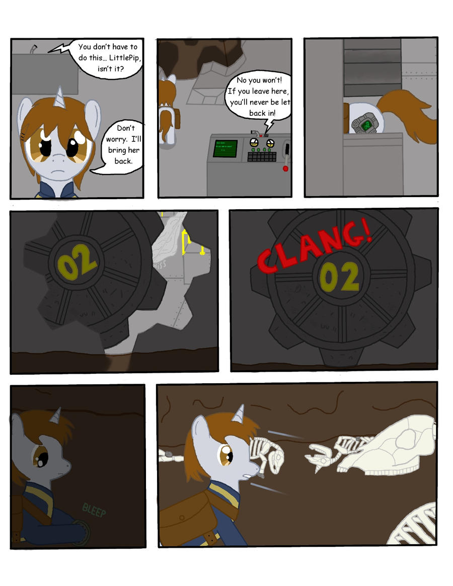 Fallout Equestria: THDC Issue 1 Page 7 by L9OBL