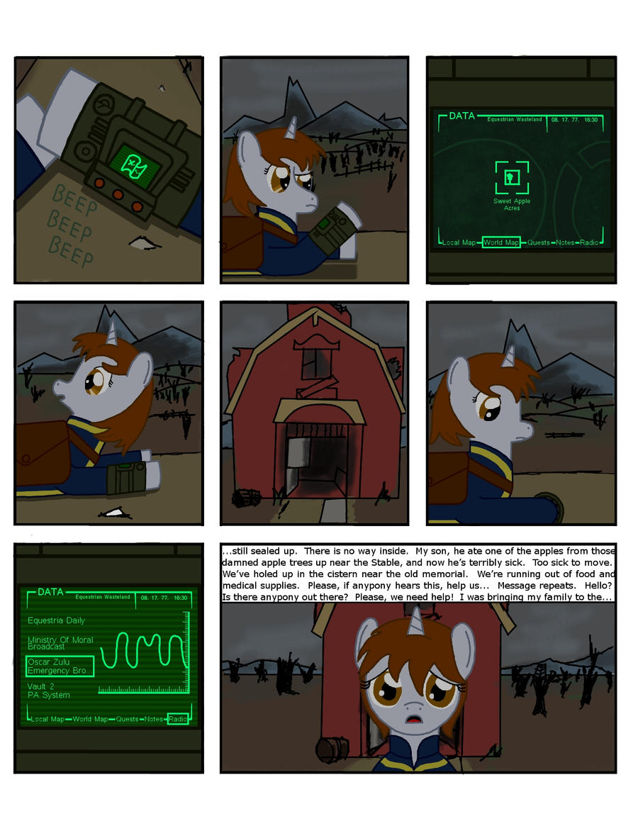 Fallout Equestria: THDC Issue 2 Page 2