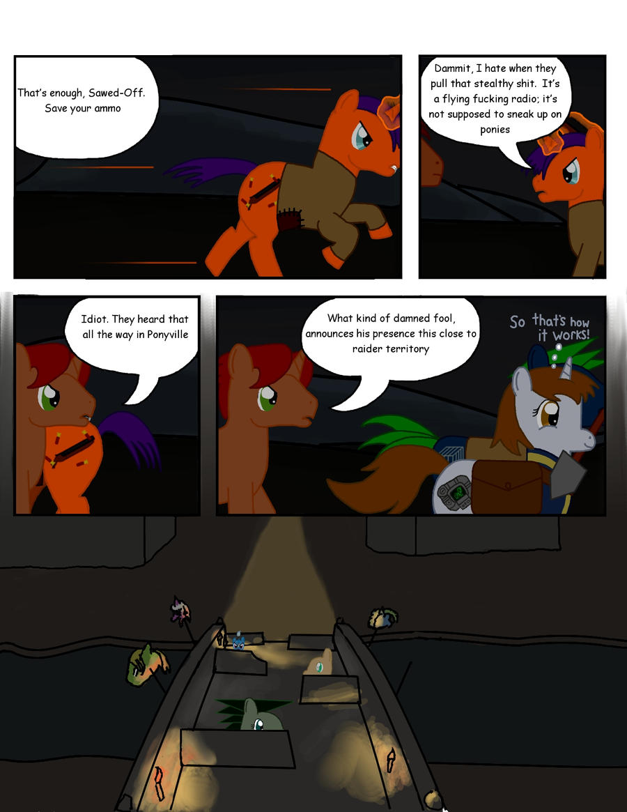 Fallout Equestria: THDC Issue 2 Page 10