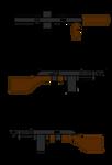 Pip's Combat Shotgun Stock Image